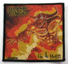Vader - 'Go to Hell' Woven Patch